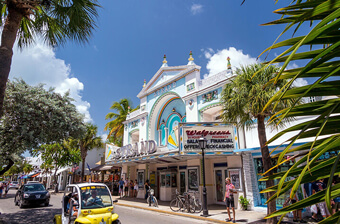 key west - strand theater exterior